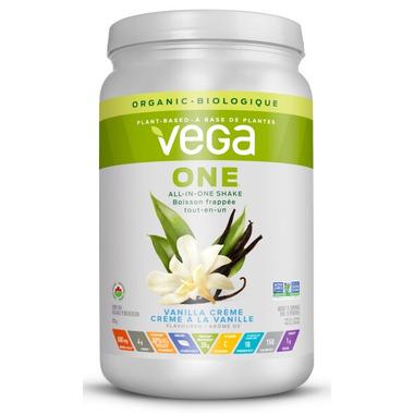 Vega One All-In-One Organic Vanilla Creme Nutritional Shake