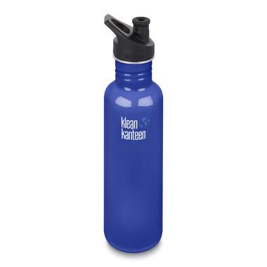 Klean Kanteen Classic Bottle with Sport Cap 3.0 Coastal Waters