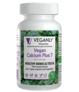 Veganly Vitamins Vegan Calcium Plus 7