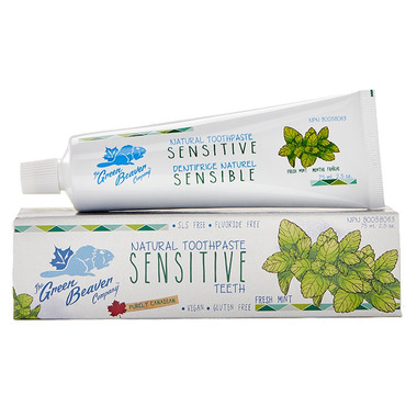 Green Beaver Sensitive Teeth Natural Toothpaste Fresh Mint