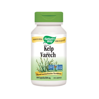 Nature\'s Way Iodine From Kelp