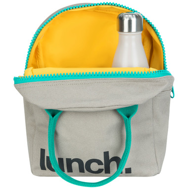 Fluf Zippered Lunch Teal