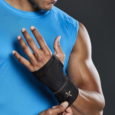 Tommie Copper Compression Wrist Sleeve Black L/XL