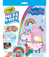 Crayola Color Wonder Mess Free Kit Peppa Pig