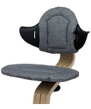 Nomi Highchair Cushion Gray Reversible