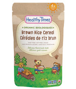 Healthy Times Organic Brown Rice Baby Cereal