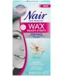 Nair Wax Ready-Strips with Soothing White Lily