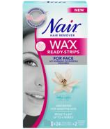 Nair Wax Ready-Strips au lys blanc apaisant