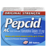 Pepcid AC Original Strength Tablets