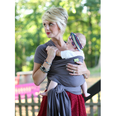 Boba Wrap Baby Carrier Dark Grey