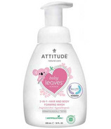 ATTITUDE Baby Leaves 2-in-1 Foaming Wash Fragrance Free