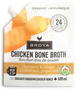 Broya Turmeric & Ginger Chicken Bone Broth