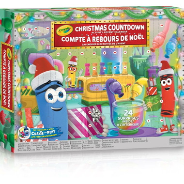 Crayola Christmas Countdown Advent Activity Calendar