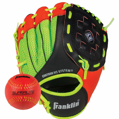 "Franklin Sports Neo-Grip 9"" Glove and Ball Set"