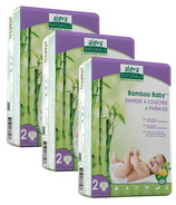 Aleva Naturals Bamboo Baby Diapers Value Pack