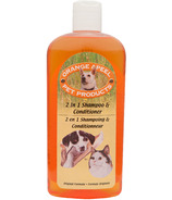 Orange a-P-E-E-L 2-in-1 Shampooing pour animaux de compagnie & Conditionneur