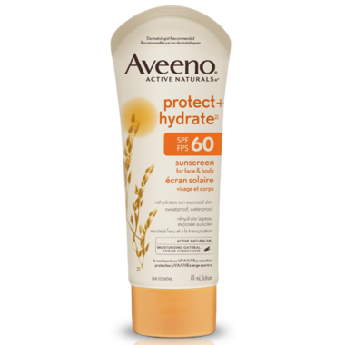 Aveeno Protect + Hydrate Sunscreen for Face & Body