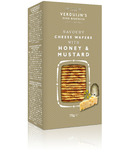 Verdujin's Savoury Cheese Wafers With Honey & Mustard