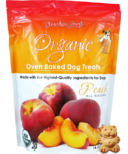 Grandma Lucy's Organic Oven Baked Peach Dog Treats