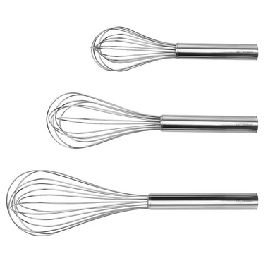 BergHOFF 3 Piece Whisk Set