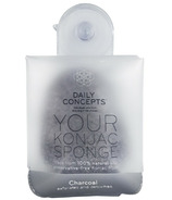 DAILY CONCEPTS All Natural Your Konjac Sponge Charcoal