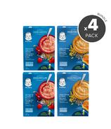 Gerber Baby Cereal 12 Months + Variety Bundle