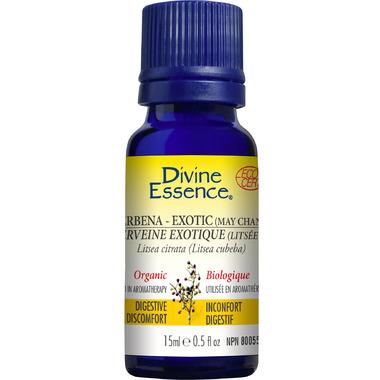 Divine Essence Verbena Organic Essential Oil