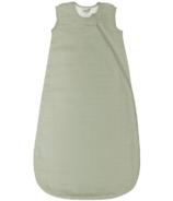 Perlimpinpin 0.7 Tog Cotton Muslin Sleep Bag Kaki