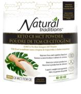 Natural Traditions Keto C8 MCT Powder