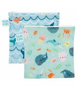 Grand sac à goûter Bumkins Ocean Life