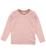 Nordic Label Long Sleeve Stripped Top Pink
