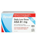 Rexall Daily Low Dose ASA Value Pack