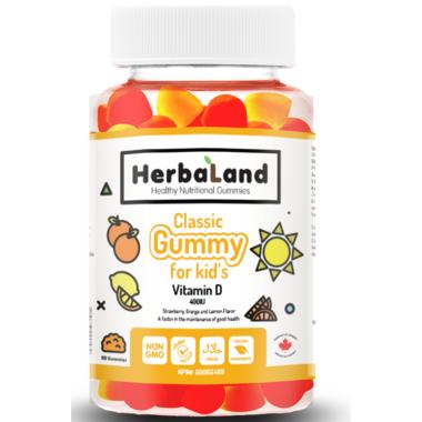 Herbaland Classic Gummy for Kids Vitamin D