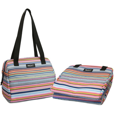 PackIt Freezable Hampton Lunch Bag Blanket Stripe