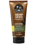 Earthly Body Hemp Seed Hand & Body Lotion Nag Champa Scent