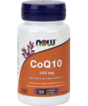 NOW Foods CoQ10 with Vitamin E Softgels