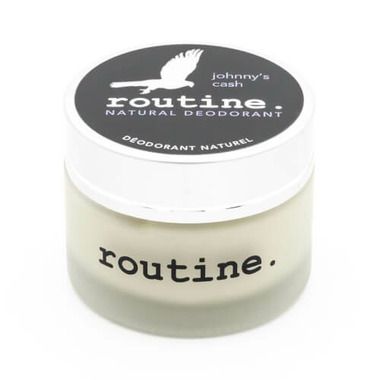 Routine De-Odor-Cream Natural Deodorant in Johnny\'s Cash Scent