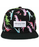 Headster Kids Snapback Hat Dino