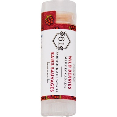 Crate 61 Organics Wild Berries Lip Balm