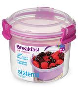 Sistema Breakfast To Go Pink