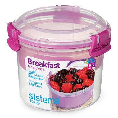 Sistema Breakfast To Go Pink