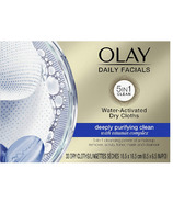 Olay 5-in-1 Daily Facial Cloths for Combination/Oily Skin