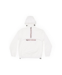 O8 Lifestyle Quarter Zip Packable Rain Jacket White