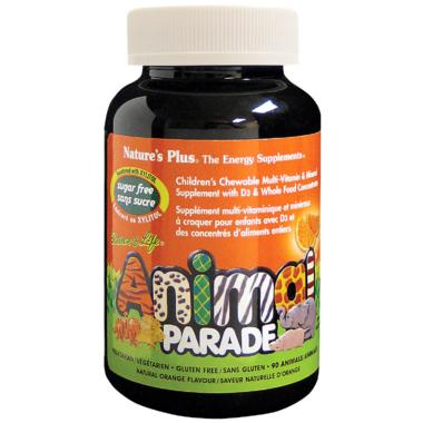 Nature\'s Plus Animal Parade Children\'s Chewable Multi-Vitamins
