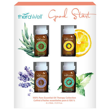 Therawell Good Start 4 Pack Essential Oils