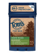 Tom's Of Maine Mens Stick Deodorant Northwoods