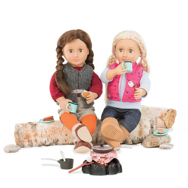 Our Generation Around the Campfire Playset