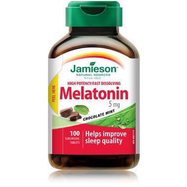 buy jamieson melatonin 5 mg fast dissolving tablets at well ca