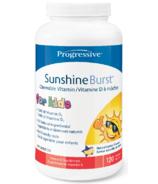 Progressive Sunshine Burst, Vitamine D pour enfants