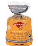 Plum.M.Good Organic Brown Rice Thins Wild Rice